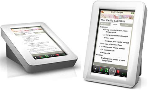 demy digitales rezeptbuch elektrische kochhilfe foerderland