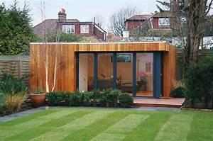 Chalet De Jardin Contemporain : chalet de jardin habitable avec bardage ext rieur en bois ~ Premium-room.com Idées de Décoration