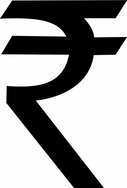 Rupee Symbol Indian Clipart Currency Sign India