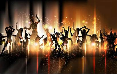 Dance Backgrounds Party Background Wallpapers Wall Vector
