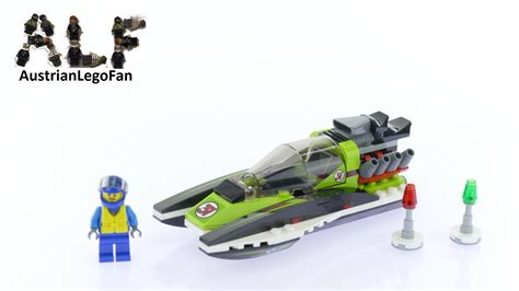 Speed Boat Max Speed by Lego City 60114 Race Boat Lego Speed Build Review