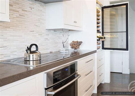 modern kitchen countertops and backsplash brown quartz kitchen countertop white kitchen cabinets modern marble subway backsplash tile from