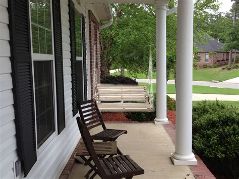 front porch swing cute decorating ideas pinterest