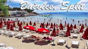 Ba U010dvice Beach In Split  Croatia