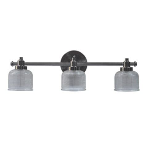 Allen And Roth Bathroom Vanity Lights by Allen Roth 3 Light Dawson Pewter Bathroom Vanity Light