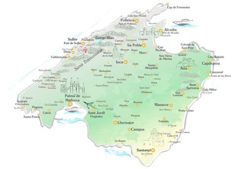 Mallorca Reiseführer mit detaillierter Karte - finca ...