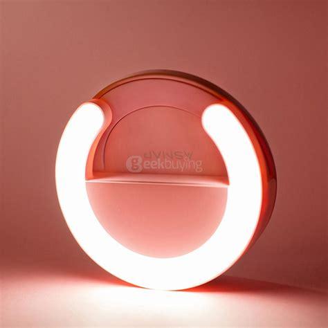 led flash fill light selfie asnap smart ring selfie light phone led flash pink