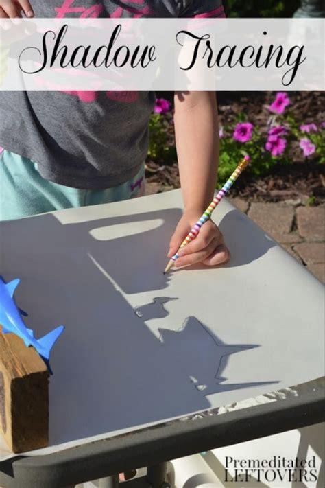 sunshine shadows tracing activity  kids