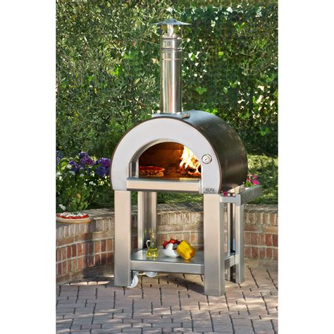 pizza oven wood forno alfa fired outdoor burning ovens minuti wayfair cooking italian portable copper standing hayneedle lowes fire costco