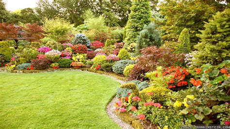 Flower Garden Ideas Wallpaper