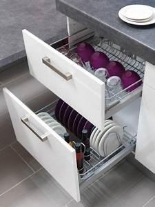 Rangement Cuisine Organisation : dans la cuisine chaque objet son rangement ~ Premium-room.com Idées de Décoration