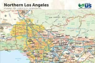 Los Angeles California Map