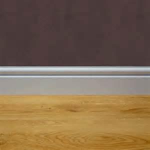 Foam Underlay Laminate Flooring by In Floor Premier Skirting White 2 4 M Length In Floor
