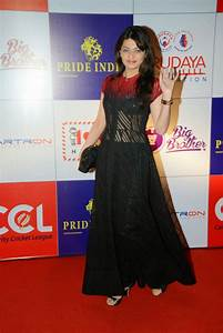 Sneha Ullal Latest Photos in Long Dress at CCL Charity ...