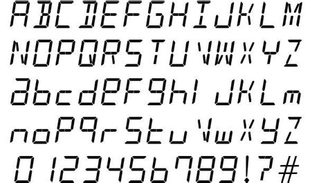 Truetype and opentype fonts available. Pin by Darby Moore on Design Methodologies   Clock, Alarm clock, Fonts
