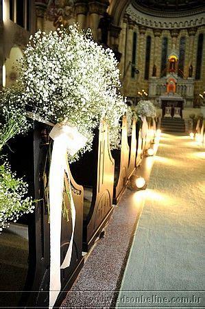 decora 231 227 o com gipsofila church pew aisle ideas wedding decorations church wedding