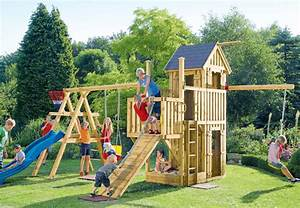Spielhaus Für Den Garten : spielhaus holz mit rutsche obi ~ Articles-book.com Haus und Dekorationen