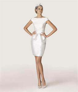 short wedding dresses for older brides With robe de mariage civil avec bijoux argent homme