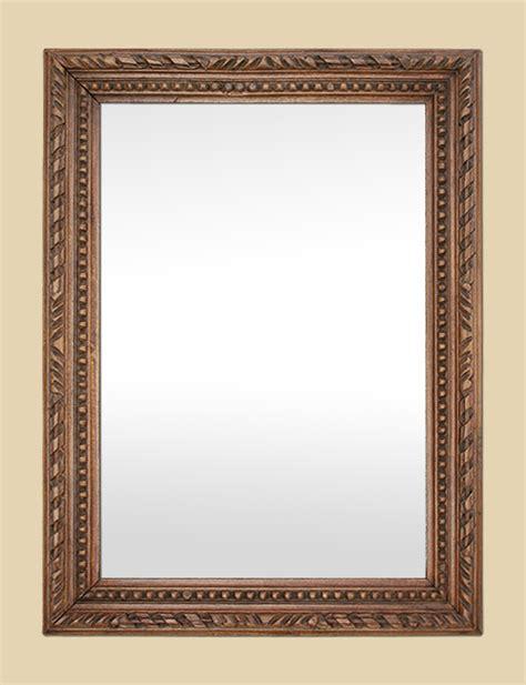 miroir bois sculpt 233 miroir ch 234 ne massif sculpte