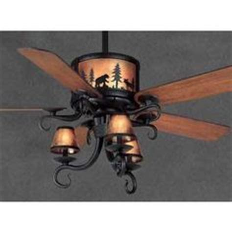 Adirondack Ceiling Fan by 1000 Images About Rustic Ceiling Fans With Lights On