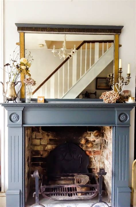 farrow  ball downpipe fireplace  emma connolly