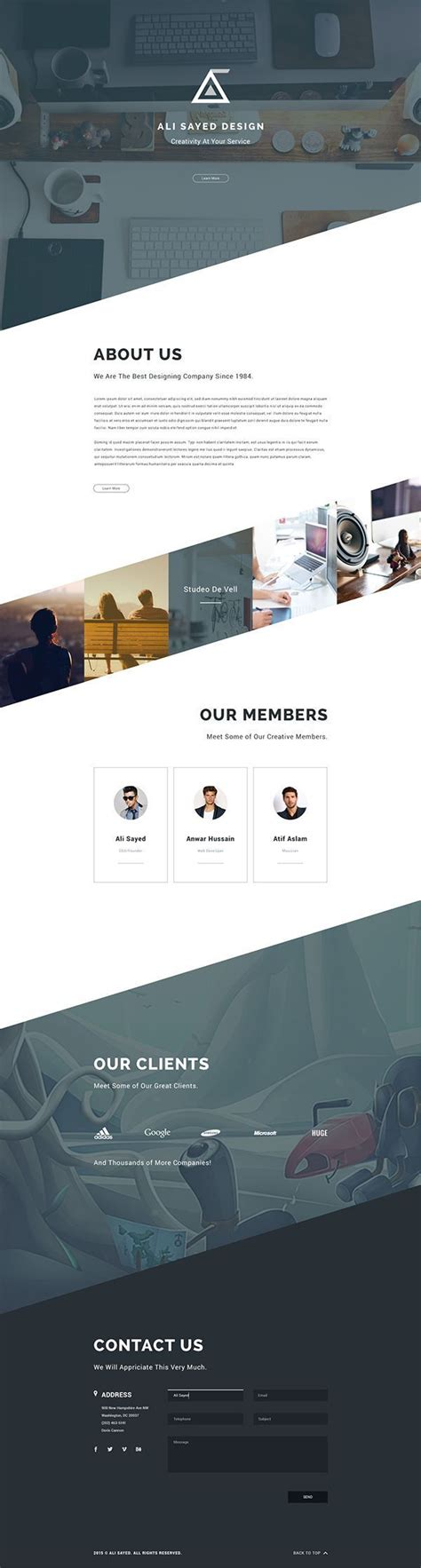 desarrollo web templat angle business agency web template design on dise 241 o web