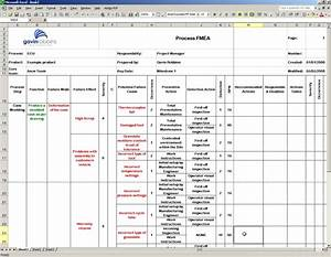 download fmea examples fmea templates excel pfmea With pfmea template