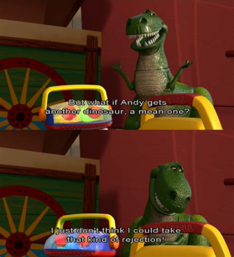 rex toy story 2 quotes