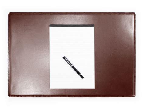 sous de bureau en cuir marron sm700