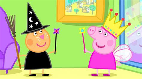 Peppa Pig English Episodes  Halloween  Peppa The Fairy Princess! Peppa Pig Official Youtube