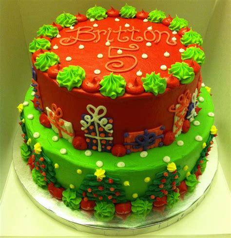 cakes ideas christmas birthday cake www imgkid the image kid