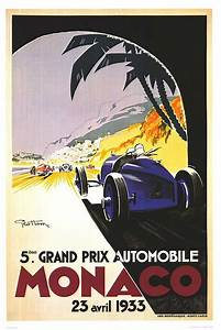 Grand Prix F1 Monaco Posters 1929
