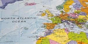 Globen Und Karten : magnetwand gerahmt silberfarbe poster karten landkarten und weltkarten interkart landkarten ~ Sanjose-hotels-ca.com Haus und Dekorationen