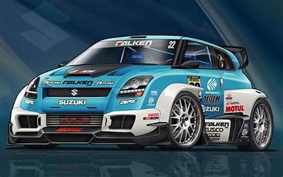 Racing Cars Wallpapers Race Modified Suzuki Mobile