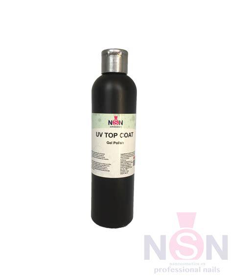UV TOP gel Quick Finish 250 ml bez výpotku Clear