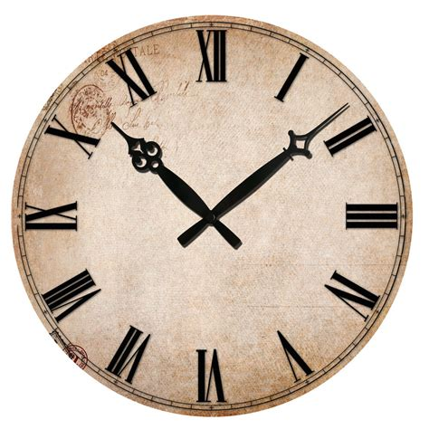 home decor wall clocks vintage numeral design clocks home decor wooden wall