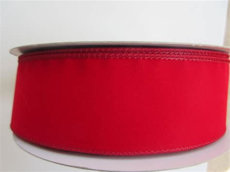 red velvet ribbon wired 1 1 2 inch wide christmas ribbon