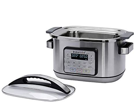 The most common instant coffee maker material is cotton. Instant Pot Aura Pro Multi-Use Programmable Slow Cooker with Sous Vide, 8 Quart, No Pressure ...
