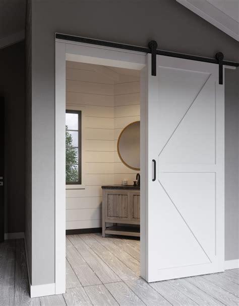 white barn door white barn door hardware door design