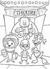 Chicken Disney Pages Coloriage Coloring Theatre Enregistree Depuis sketch template