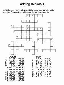 20 Easy and Interactive Math Crossword Puzzles | Kitty ...