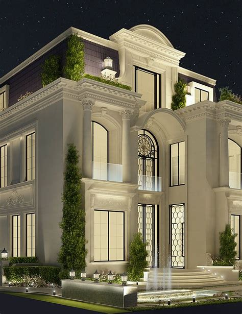 architectural house designs luxury architecture design qatar doha by ions