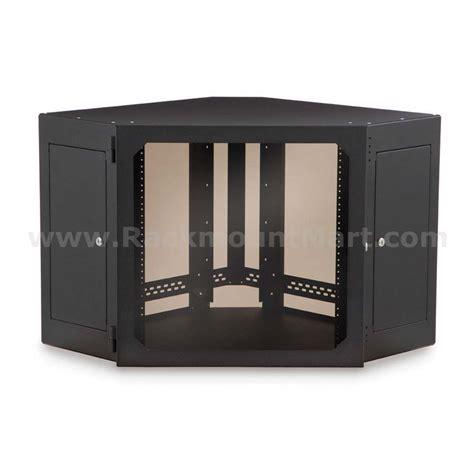 wall mounted corner cabinet 12u corner wall mount cabinet part wb1208 sku sy