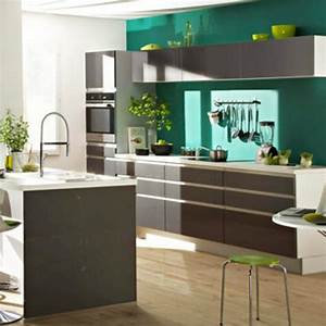 tendance couleur peinture cuisine 2015 cuisine idees With decoration peinture cuisine couleur