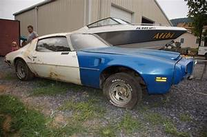 Find Used 1971 Pontiac Trans Am Project With Tons Of Parts