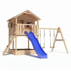 Kinder Spielturm Garten : spielturm mit rutsche und doppelschaukel xg83 hitoiro ~ Whattoseeinmadrid.com Haus und Dekorationen
