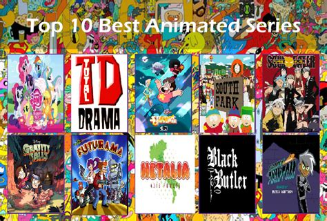 My Top 10 Best Animated Shows By Disneysquirrelgem On