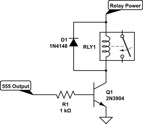 Can Place Relay The Output Pin