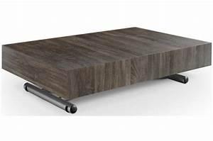 Table Basse Vintage Bois : table basse relevable bois vintage extencia table basse pas cher ~ Melissatoandfro.com Idées de Décoration