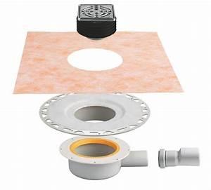Siphon Douche Extra Plat : kit complet siphon extra plat grille cadre kerdi drain ~ Dailycaller-alerts.com Idées de Décoration